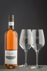 Ataahua Rose Glasses Set